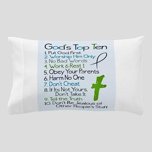 Gods top ten Pillow Case