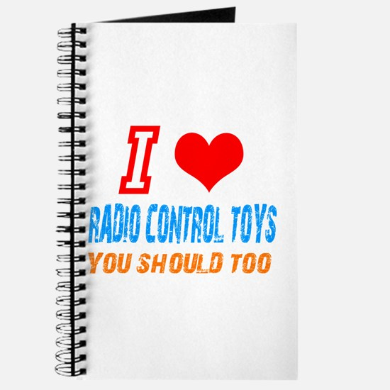 I love radio control toys Journal