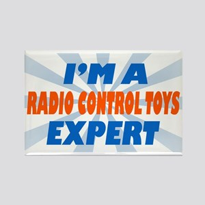 im a radio control toys exper Rectangle Magnet