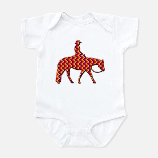 Western pleasure zig zag Infant Bodysuit
