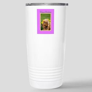 Birthday Cocker Spaniel Stainless Steel Travel Mug