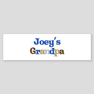 Joey's Grandpa Bumper Sticker