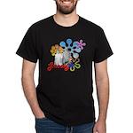 """Groovy"" Retro Graphic Dark T-Shirt"