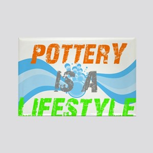 Potterly is a Lifestyle Rectangle Magnet