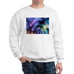 Brilliant Blues Pattern Sweatshirt