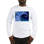 Brilliant Blues Artistry Long Sleeve T-Shirt