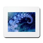Brilliant Blues Artistry Mousepad