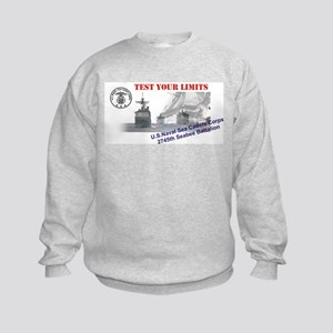 2745th Kids Sweatshirt - Images Front & Back