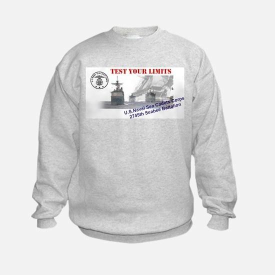 2745th Sweatshirt - Images Front & Back