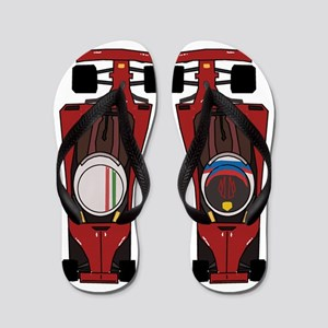 Halo Flip Flop: Ferrari Flip Flops