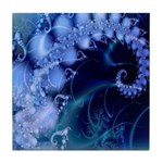 Brilliant Blues Artistry Tile Coaster
