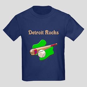 Detroit Rocks Kids Dark T-Shirt