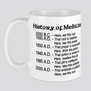 History of Medicine Mug