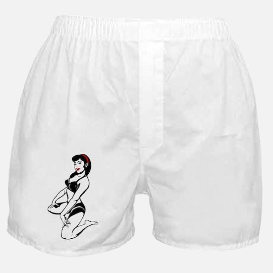 Bette Noir Babe Boxer Shorts