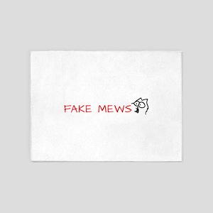 fake mews 5'x7'Area Rug