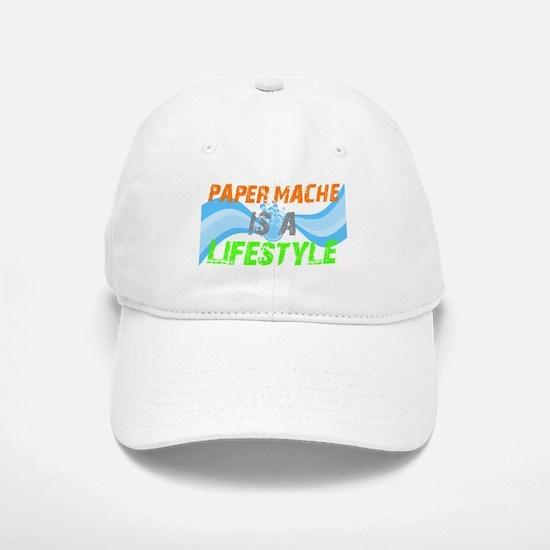 Paper Mache is a lifestyle Baseball Baseball Cap