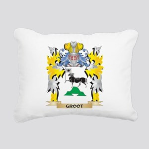 Groot Coat of Arms - Fam Rectangular Canvas Pillow