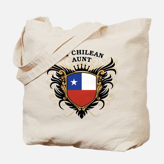 Number One Chilean Aunt Tote Bag