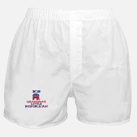 Bob - Grandma's Little Republ Boxer Shorts