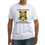 2ND BATTALION 2ND INFANTRY REGIMENT Fitted T-Shirt