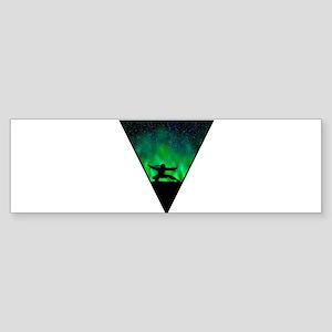 Space Ninja Bumper Sticker
