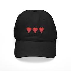 Strawberry Hearts Baseball Hat