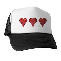 Strawberry Hearts Trucker Hat