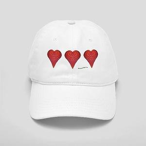 Strawberry Hearts Cap