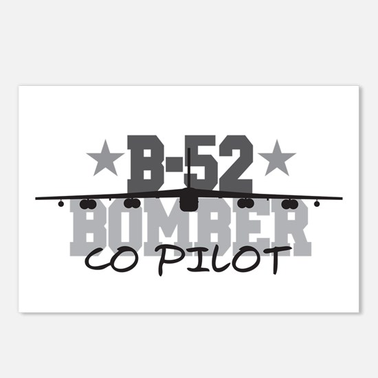 B-52 Aviation Co Pilot Postcards (Package of 8)