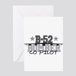 B-52 Aviation Co Pilot Greeting Card