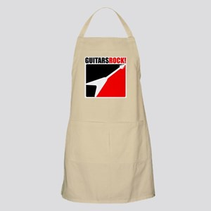 Guitars Rock! BBQ Apron