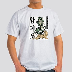 White Hapkido Tiger And Dragon T-Shirt