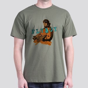 FLYBOY Vintage Pilot Dark T-Shirt