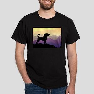 Purple Mountains Puggle Dark T-Shirt