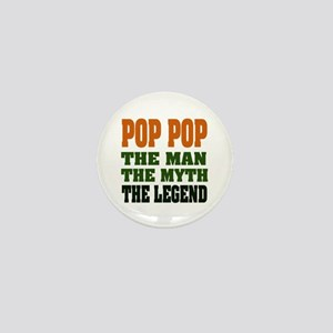 POP POP - the legend Mini Button