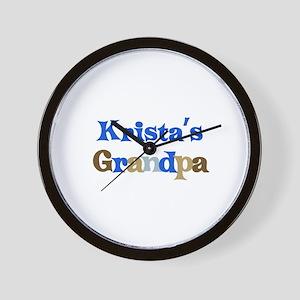 Krista's Grandpa Wall Clock