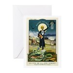 Swiss Absinthe Prohibition Greeting Cards (Package