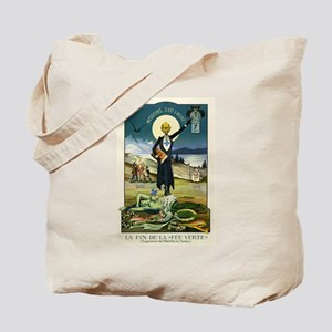 Swiss Absinthe Prohibition Tote Bag