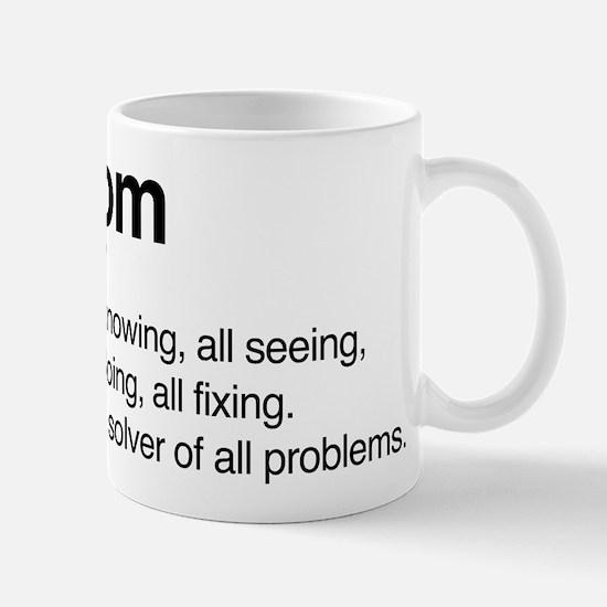 Mom Solver Of All Problems Mug