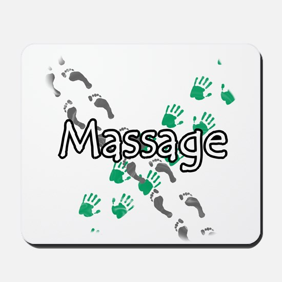 Feet and Hands Massage Mousepad