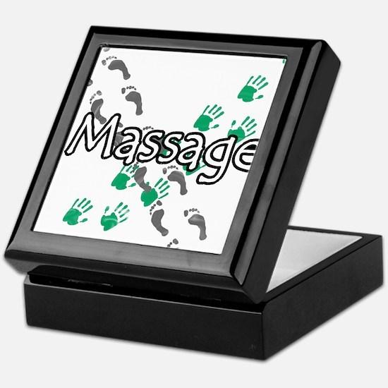 Feet and Hands Massage Keepsake Box