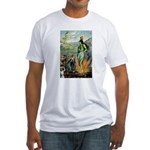 Death of the Green Fairy Fitted T-Shirt