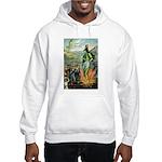 Death of the Green Fairy Hooded Sweatshirt