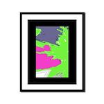 Color Splash Framed Panel Print