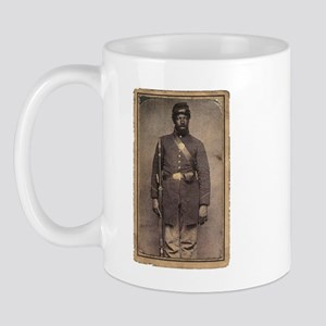 Civil War Soldier on Mug