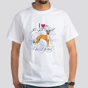 Italian Greyhound White T-Shirt