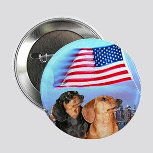 "USA Dachshunds 2.25"" Button"