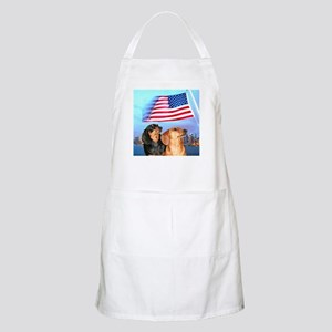 USA Dachshunds BBQ Apron
