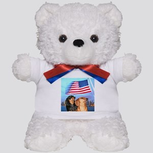 USA Dachshunds Teddy Bear