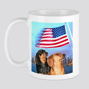 USA Dachshunds Mug